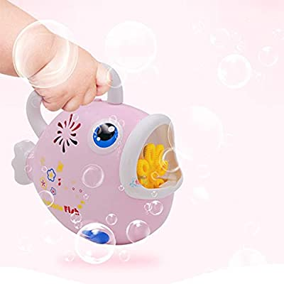 Bubble Machine Set for Kids- Automatic Fish Bubble Maker Bubble Blower Toy with Bubble Liquid for Kids Boys Girls Age of 3-4,5,6,7,8-16 Easy to Use of Indoor, Outdoor, Party, Wedding: Jewelry