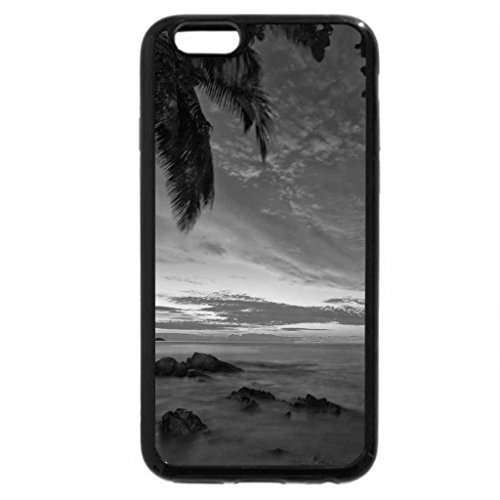 iPhone 6S Case, iPhone 6 Case (Black & White) - Patong Beach