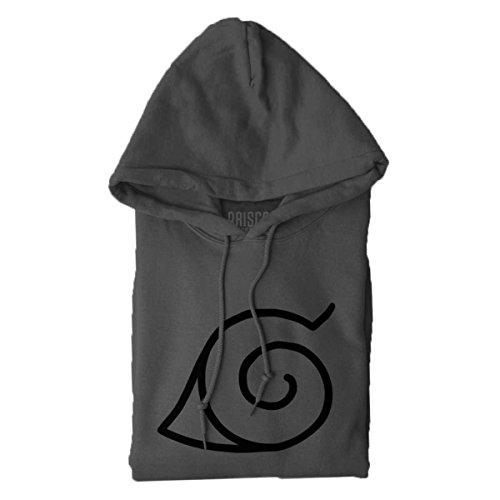 Brisco Brands Konoha Naruto Cute Kakashi Sensei Manga Gym Ninja Hoodie Sweatshirt by Brisco Brands (Image #6)