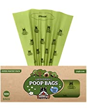 Pogi's Poop Bags - 500 Grab & Go Dog Poo Bags - Scented, Leak-Proof, Biodegradable Poo Bags for Dogs