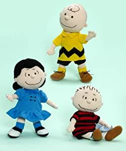 "Alexander Dolls 9"" The Peanuts Gang (Peanuts By Schultz Collection) - Set Of 3"