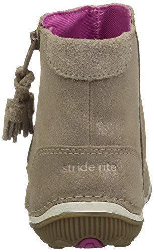Pictures of Stride Rite Girls' SRT Zoe Ankle Boot BG59431 Light Gold 8