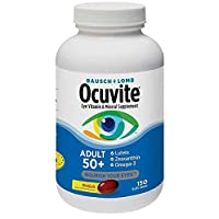 Bausch & Lomb Ocuvite Adult 50+ Eye Vitamin & Mineral