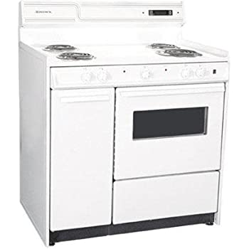 This Item Summit WEM430KW Kitchen Electric Cooking Range, White