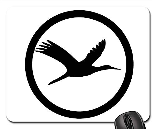 Mouse Pads - Bird Creatures Life Icon Logo Sticker Clipart 1