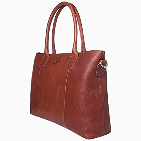 MOZZ Bags Wickeltasche Leder Cute Catch Schwarz oder Cognac Cognac