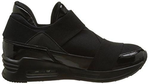Neopren Suede Buffalo Sneakers 258 30 Black Basses Femme 100 gExwfqO