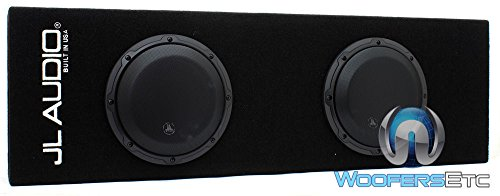 JL Audio ACP208LG-W3v3 500W MicroSub+ Amplified Subwoofer Ported-Enclosure System with Dual 8