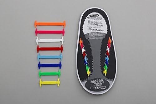 【簡単ラクラク】 結ばない靴ひも ラクルン(グリーン)