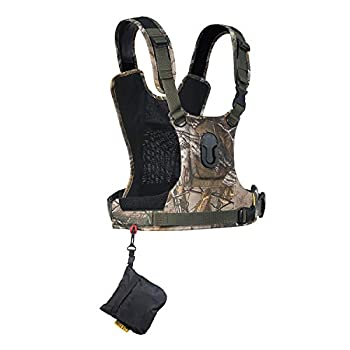 Image of Camera & Camcorder Straps Cotton Carrier CCS G3 Camera Harness System for One Camera - Camo