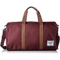Herschel Supply Co. Novel Duffel Bag (Windsor Wine/Tan)