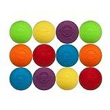 Velocity Multi Color Lacrosse Balls - 12 Balls
