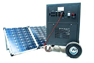 Solar Powered Generator- VSP 3500 watt Generator with VSP 200watt solar charger panel