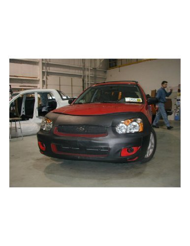 Lebra 2 piece Front End Cover Black - Car Mask Bra - Fits - SUBARU,IMPREZA,,Wagon Only EXCLUDES WRX,2004 2005 - Subaru Impreza Car Bra