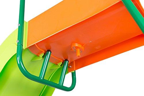 SLIDEWHIZZER Outdoor Play Set Kids Slide: 10 ft Freestanding Climber, Swingsets, Playground Jungle Gyms Kids Love – Above Ground Pool Slide for Summer Backyard by SLIDEWHIZZER (Image #2)