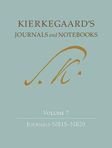 Kierkegaard's Journals and Notebooks: Volume 7: Journals NB15-NB20 Pdf