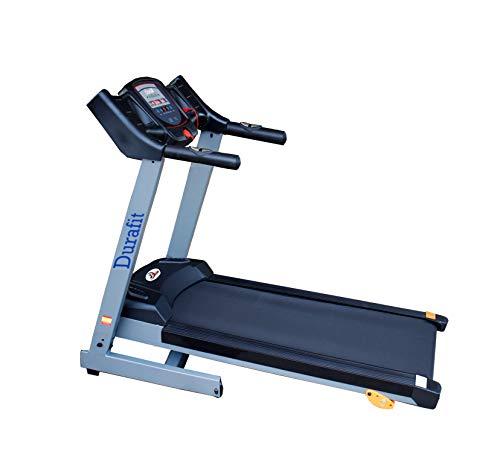 Durafit 001 Sturdy Motorized Foldable Treadmill (Black)