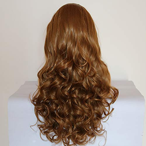 Fantasy Beauty Synthetic Lace Front Wigs Wavy Blond