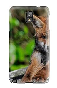 [qEWeLNx3348zQJwd] - New Fox Animal Picture Protective Galaxy Note 3 Classic Hardshell Case