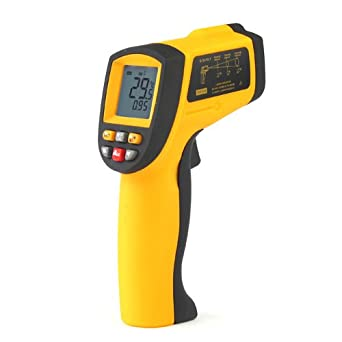 GM900 Digital LCD IR Infrared Thermometer NO Contact Temperature Meter -50~900C -58