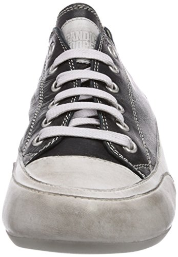 Sneakers Cooper Tamponato Nero Candice Rock Black Women's Top Low qgawYvpx