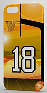 iphone covers Basketball Sports Fan Player Number 18 Snap On Decorative Iphone 6 4.7 Case
