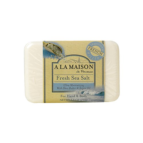 A la maison bar soap fresh sea salt 8 8 ounce a la for A la maison soap