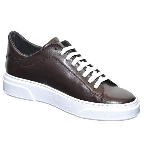 Vera Moro Fondo Moda Basic Bassa Made Sneakers Cruelty Handmade Di Italy Uomo In Linea Invernale Bianco Pelle Testa qIC8wzC