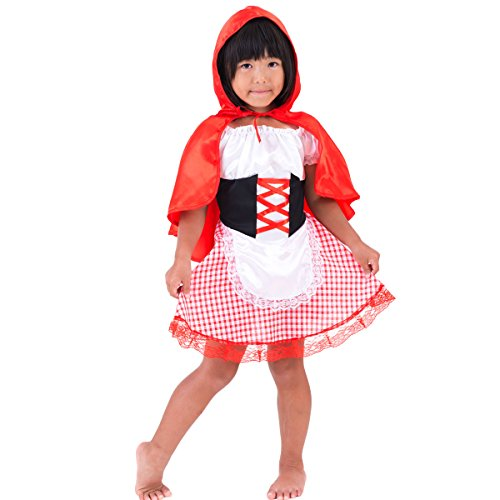 [FUN fun Little Girls' Halloween Costume Dress 'Little Red Riding Hood' 1-4 Ye...] (Babies R Us Toddler Halloween Costumes)