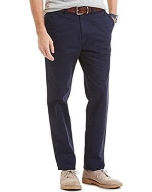 Nautical Men's Slim Fit Pants Navy Size 42x30