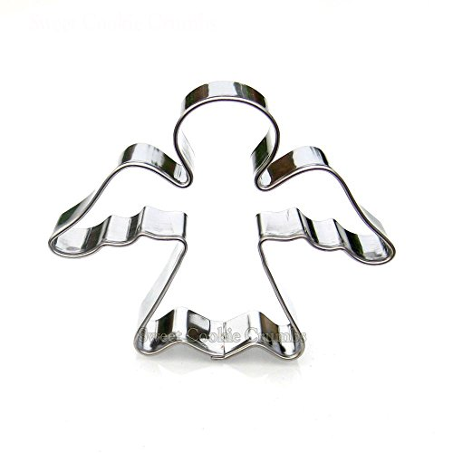 Mini Angel Cookie Cutter- Stainless Steel - Angel Wings Templates