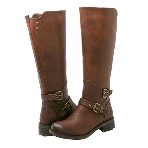 GLOBALWIN Women's KadiMaya1621-3 Boots 8M,Brown by Global Win