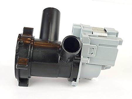 SpareHome Bomba desagüe para Lavadora Bosch Maxx6, Maxx7 Series: WAA, WAE, WFL, WFO, WFR, WFW, WFX, WIE, WM, WVD.