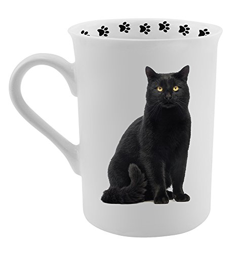 Dimension 9 Black Cat Coffee Mug