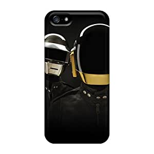 Protective Hard Phone Case For Iphone 5/5s With Allow Personal Design Attractive Daft Punk Skin AlissaDubois