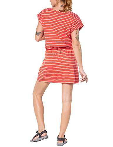 orange Kleid Wolfskin orange Jack Da Striped Travel Dress Y14w40aq