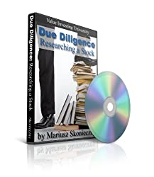 Due Diligence: Researching a Stock: Value Investing University DVD Collection, DVD Number 3 by Investment Publishing