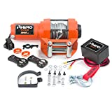 Rhino Electric Winch Wireless 3000Lb / 1360Kg 12