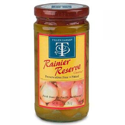 Tillen Farms Rainier Reserve Cherries, 13.5 Ounce - 6 per case.