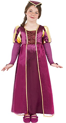 Smiffy's Tudor Girl Fancy Dress Costume-Small - 10-12 Years