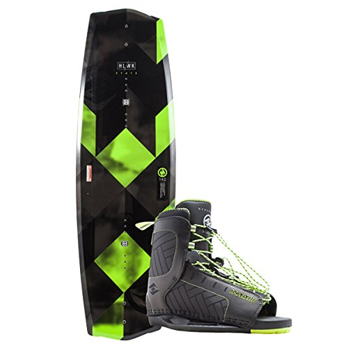 Hyperlite State 2.0 Wakeboard w/Remix Boots (130, 4-8 Boot)