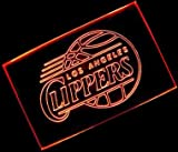 NBA Los Angeles Clippers Team Logo with (16 kinds of Colors flashing mode+remote control) Neon Light Sign