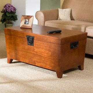 Trunk Coffee Table With Lift Top
