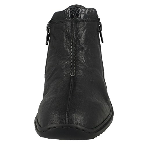 Stivaletti 01 Black Combination Donna 00 Riekerl3882 w6fq8Zx