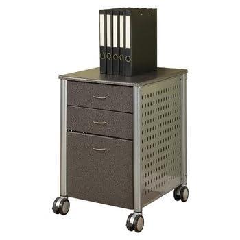 Amazon.com: Innovex Mobile Filing Cabinet, Medium Cherry: Kitchen ...