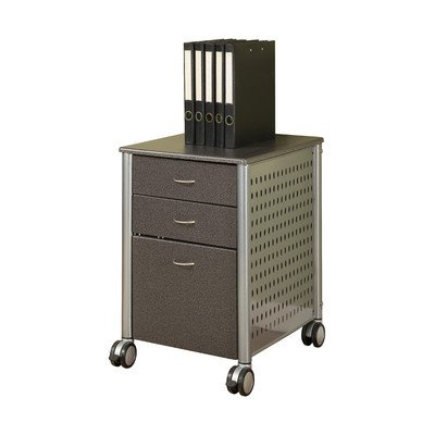 Innovex Archive Series Filing Cabinet, Granite Black by Innovex