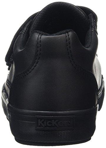 Kickers Tovni Trip, Entrenadores Unisex Adulto Negro (Black)