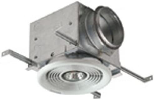 Fantech PBV4 damper box with 7 Inch ceiling grill for 4 inch duct