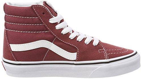 ... Vans Unisex-Erwachsene Sk8-Hi Hohe Sneaker Rot (Apple Butter/true White