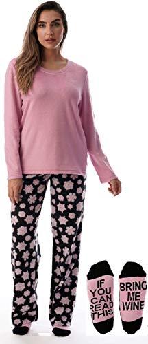 - Just Love Womens Microfleece Pajama Pants Set with Socks 6734-10330-2X